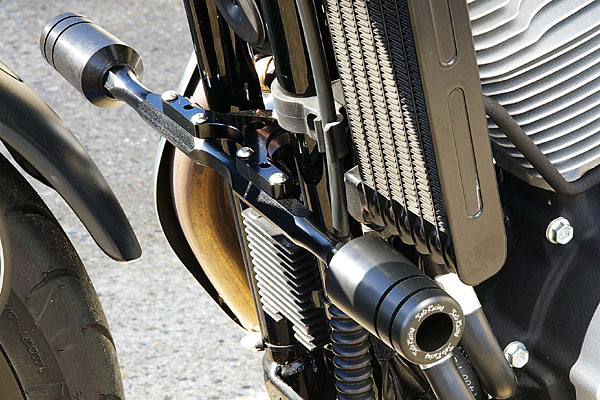 frame slidersengine guards the sportster and buell motorcycle forum the xlforum - Motorcycle Frame Sliders