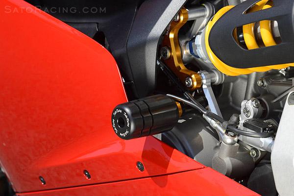 Sato Racing Engine Sliders Ducati 959 1199 1299