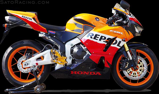 SATO RACING | Frame Sliders - Honda CBR600RR (non-ABS) ('13-)
