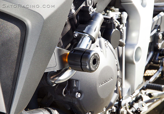 SATO RACING | Frame Sliders - Honda CB1000R ('08- )