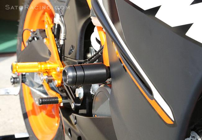 Sato Racing Frame Sliders Ktm Rc125 Rc200 14