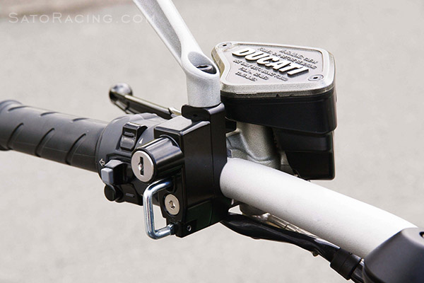 Sato Racing Helmet Lock Universal Handle Bar Mount Type