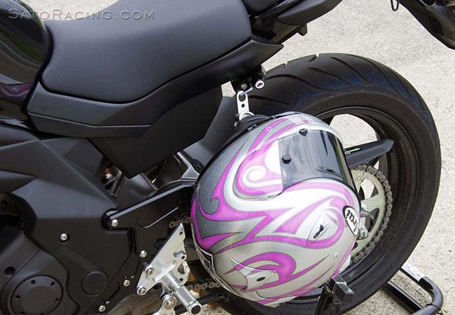 How Do You Carry A Helmet For Passenger