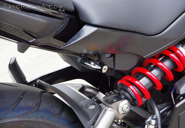 Sato Racing Helmet Lock Kawasaki Ninja 650 12 16