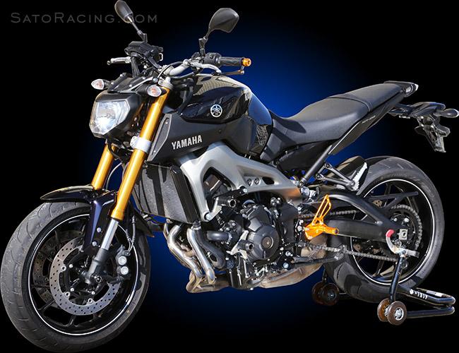 Fz 09 Yamaha >> SATO RACING | Frame Sliders - FZ-09 (MT-09) '14- / XSR900 '16-