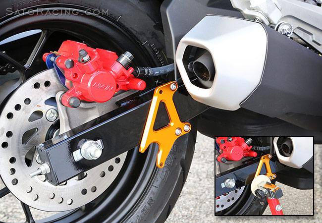 Sato Racing Race Concept Race Stand Hooks Sprocket Guard Honda