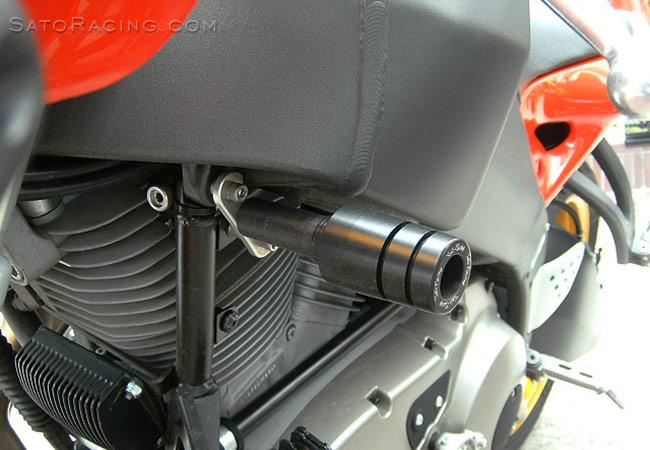 SATO RACING | Frame Sliders - Buell Firebolt / Lightning XB9R/S ...