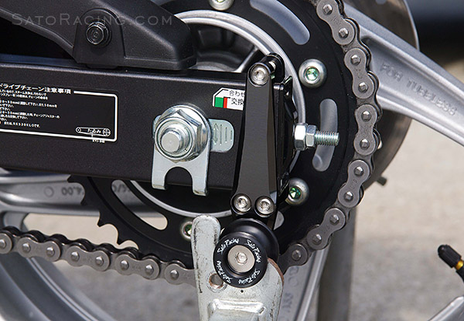 Sato Racing Swingarm Spools Honda Cbr250 Cbr300r 11