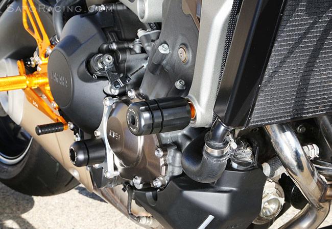 MT-09 Sato Racing Engine Sliders for Yamaha 14 FZ-09