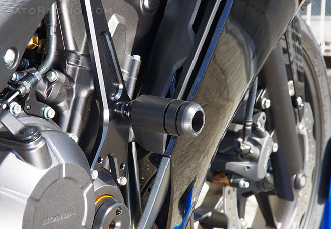 SATO RACING | Frame Sliders - CBR400R/ CBR500R (\'13-\'15)