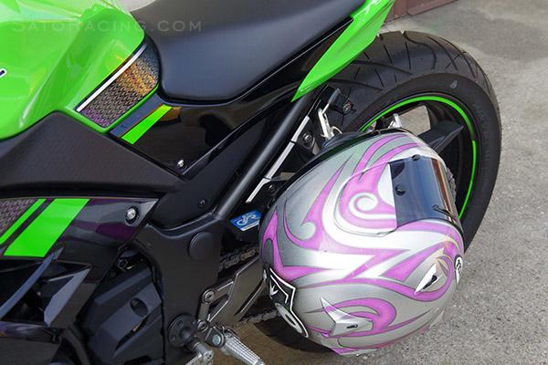 Sato Racing Helmet Lock Kawasaki Ninja 300 250 13 17