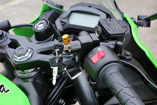 Sato Racing Helmet Lock Universal Handle Bar Mount Type