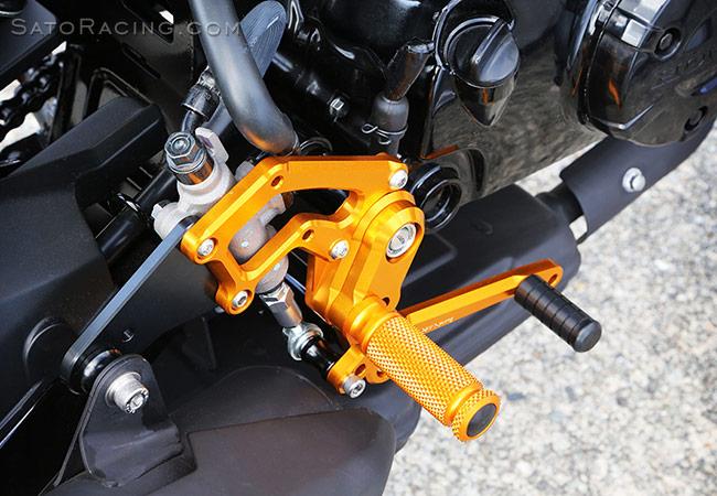 SATO RACING   Rear Sets - Honda GROM ('16-'19)