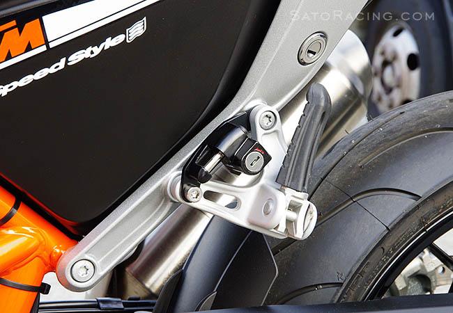 Sato Racing Helmet Lock for KTM 690 DUKE /'12-