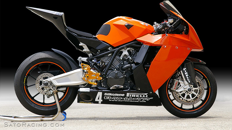 SATO RACING | Rear Sets - KTM RC8 / RC8R