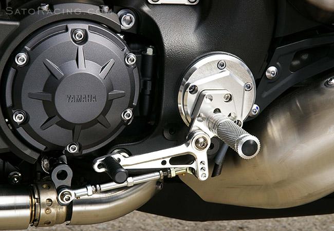 SATO RACING   Rear Sets - Yamaha VMAX 1700 ('09-'19)