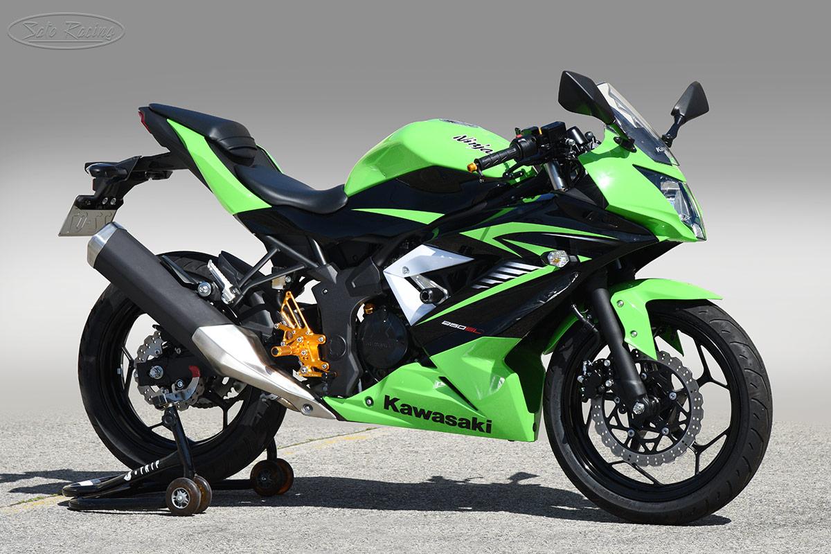 SATO RACING | Frame Sliders - Kawasaki Ninja 250 SL ('15- )