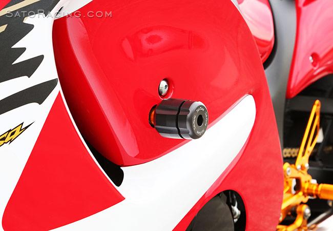 SATO RACING | Frame Sliders - Suzuki GSX1300R Hayabusa (all years)