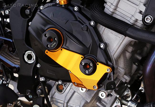 SATO RACING | RAce Concept Engine Case Protectors - Suzuki GSX-R1000